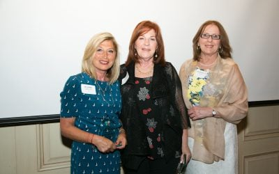Special awards presented at volunteer reception